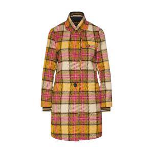 SCOTCH & SODA Přechodný kabát 'Bonded checked'  oranžová