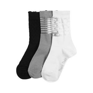 ThokkThokk Ponožky  černá / šedá / bílá