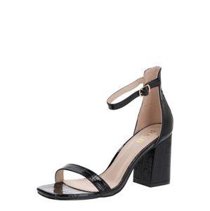 Raid Páskové sandály 'ALIYA'  černá