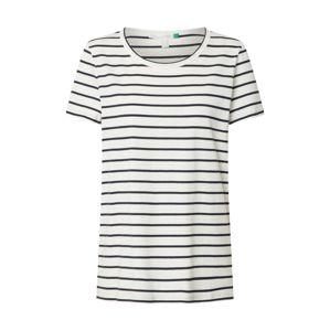 ESPRIT Tričko 'Corporate'  námořnická modř / bílá