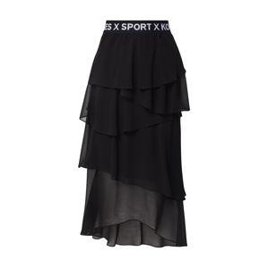 THE KOOPLES SPORT Sukně 'JUPE'  černá