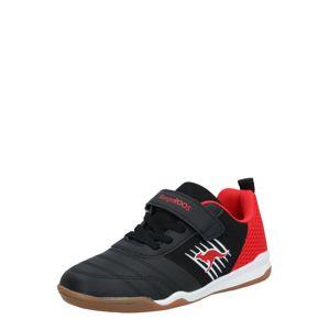 KangaROOS Sportovní boty 'Super Court EV'  černá / červená