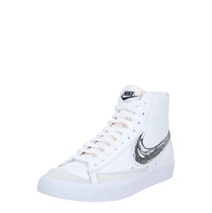 Nike Sportswear Kotníkové tenisky  červená / bílá / černá