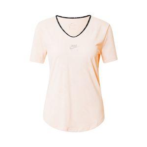 NIKE Funkční tričko  broskvová