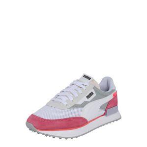 PUMA Tenisky 'RIDER STREAM ON'  bílá / šedá / pastelově růžová