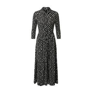 Dorothy Perkins Košilové šaty  bílá / černá