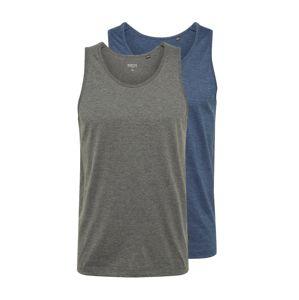 BURTON MENSWEAR LONDON Tričko  modrá / čedičová šedá