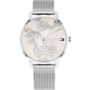 TOMMY HILFIGER Analogové hodinky 'CASUAL'  champagne / stříbrná