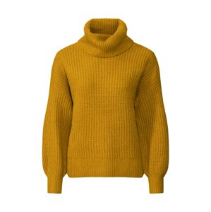Noisy may Svetr 'NMROBINA L/S HIGH NECK KNIT 6B'  žlutá