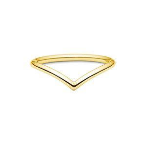 ID Fine Prsten 'Dash V'  zlatá
