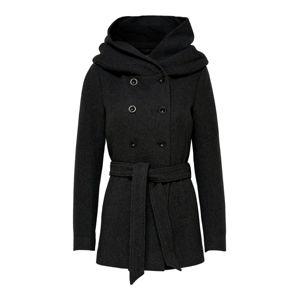 ONLY Přechodný kabát 'Lisa Rianna'  tmavě šedá