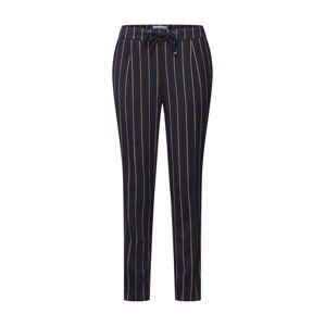 ESPRIT Kalhoty se sklady v pase  námořnická modř