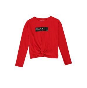 BLUE SEVEN Tričko  ohnivá červená / černá / bílá