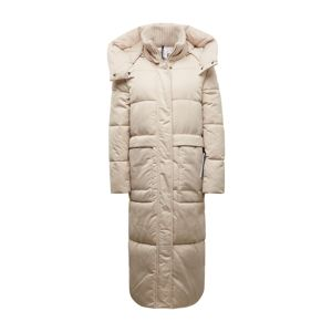TOM TAILOR Zimní kabát  béžová