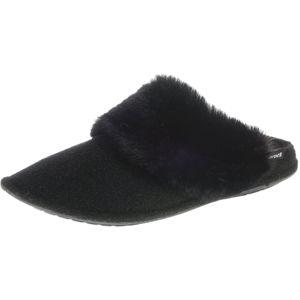Crocs Slipper 'Luxe'  bílá / černá