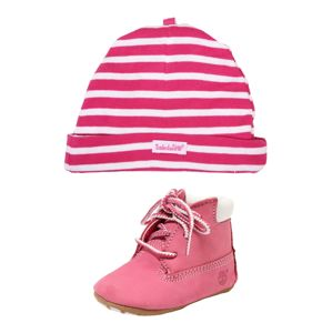 TIMBERLAND Kozačky 'Crib Bootie with Hat'  pink