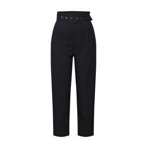 ABOUT YOU Kalhoty se sklady v pase 'Charlie'  černá