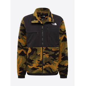 THE NORTH FACE Outdoorová bunda 'Denali'  barvy bláta / zelená / černá