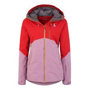 Maloja Outdoorová bunda 'DorelaM'  červená / fialová