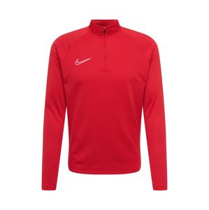 NIKE Funkční tričko 'Academy'  bílá / červená