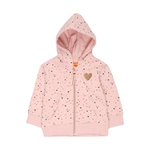 STACCATO Mikina s kapucí  růžová