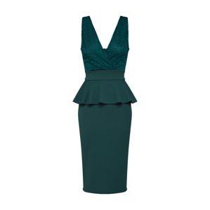 WAL G. Koktejlové šaty 'WG 7214/P'  zelená