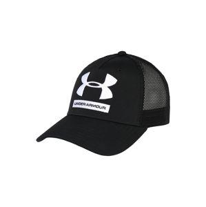 UNDER ARMOUR Sportovní kšiltovka  černá / bílá
