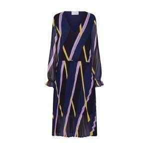 JUST FEMALE Šaty 'Gala'  námořnická modř / mix barev