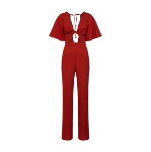 Fashion Union Overal 'DREAMER'  červená