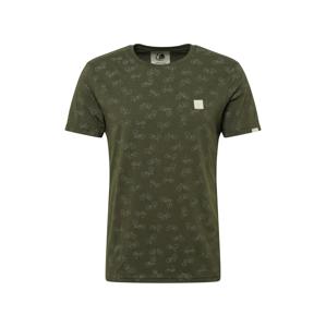Ragwear Tričko 'ROMARE'  olivová / tmavě zelená