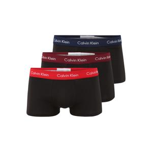 Calvin Klein Underwear Boxerky  červená / námořnická modř / burgundská červeň / černá