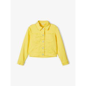 NAME IT Přechodná bunda  svítivě žlutá