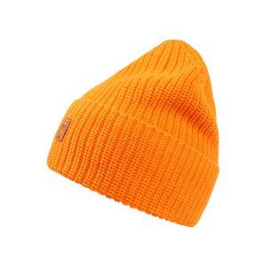 KnowledgeCotton Apparel Čepice 'Ribbing'  oranžová