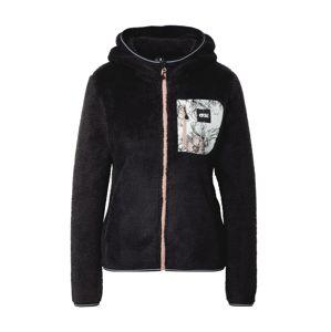 Picture Organic Clothing Funkční fleecová mikina  černá / bílá / růže