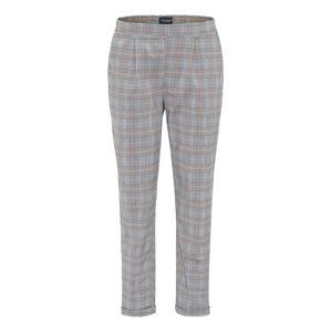 BROADWAY NYC FASHION Kalhoty 'NEMI'  světle šedá / černá