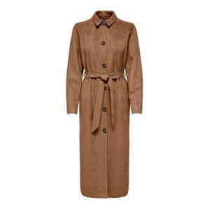 ONLY Přechodný kabát 'Joane'  mokka