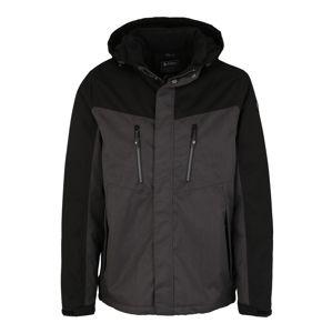 KILLTEC Outdoorová bunda 'Tiggo'  antracitová / černá