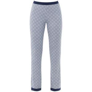 PALMERS Pyžamové kalhoty 'Moroccan Nights'  tmavě modrá / bílá