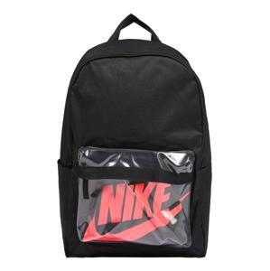 Nike Sportswear Batoh 'Heritage 2.0'  oranžově červená / černá