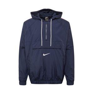 Nike Sportswear Přechodná bunda 'SWOOSH'  tmavě modrá