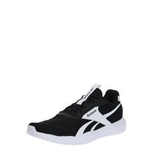 REEBOK Sportovní boty  černá / bílá