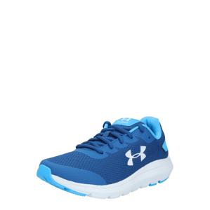 UNDER ARMOUR Sportovní boty 'GS Surge 2'  modrá / bílá / tyrkysová