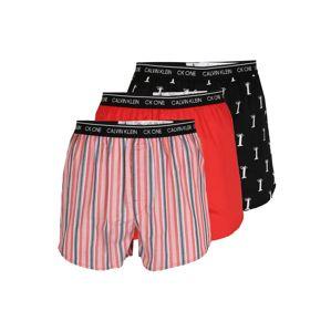 Calvin Klein Underwear Boxerky  černá / bílá / červená