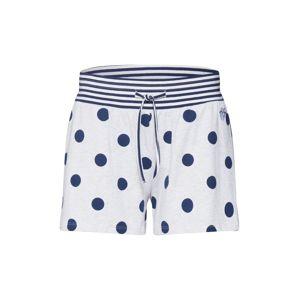 Short Stories Pyžamové kalhoty  tmavě modrá / bílá