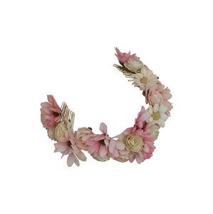 LILY AND ROSE Šperky do vlasů 'Esmeralda'  růže / světle hnědá