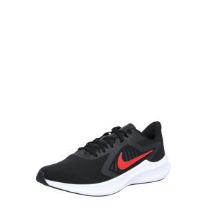 NIKE Sportovní boty 'Downshifter 10'  červená / černá