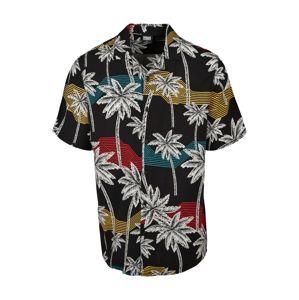 Urban Classics Košile  bílá / mix barev / černá