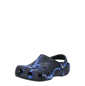 Crocs Pantofle 'Classic Out of This World'  bílá / černá / modrá