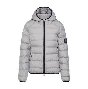 ECOALF Zimní bunda  světle šedá