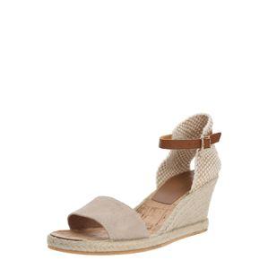 Carvela by Kurt Geiger Páskové sandály 'STELLA'  béžová / zlatá